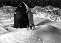 """Una escena de la película de 1929 """"La mujer en la Luna"""" [""""Frau im Mond""""] de Fritz Lang Credit Kino Lorber"""