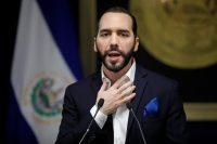 El presidente de El Salvador, Nayib Bukele, en una conferencia de prensa en San Salvador el 2 de julio de 2019 Credit José Cabezas/Reuters