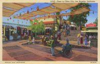 Le Plaza à China City, Los Angeles, 1940. Photo Mary Evans. Rue des Archives