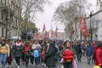 Una protesta en Buenos Aires contra la inestabilidad económica y el desempleo durante el gobierno de Mauricio Macri.CreditCreditRicardo Ceppi/Getty Images