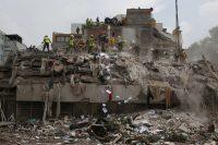 En la Ciudad de México colapsaron 38 edificios y hubo 228 muertos en el sismo del 19 de septiembre de 2017 (Rebecca Blackwell).