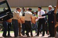 El funeral en Ciudad Juárez de Elsa Mendoza Márquez, profesora asesinada en el ataque de El Paso del 3 de agostoCreditCreditMario Tama/Getty Images