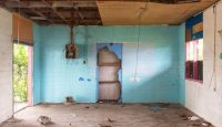 A room where refugees were once housed on Manus Island, Papua New Guinea. Photo: Getty Images.