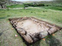 Restos humanos de la Edad de Bronce en Dali (Kazhastan). MICHAEL FRACHETTI