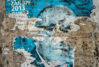 The remains of a 2013 election poster for Robert Mugabe in Bulawayo, Zimbabwe. Mr. Mugabe, who ran the country for 37 years, died on Friday.CreditCreditZinyange Auntony/Agence France-Presse — Getty Images