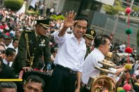 El presidente de Indonesia, Joko Widodo. Foto: Ahmad Syauki.