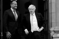 Leo Varadkar, Ireland's prime minister, met with Boris Johnson, his British counterpart, in Dublin in September.CreditCreditPhil Noble/Reuters