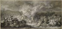 Ilustración realizada por el pintor francés Jacques Louis David en 1776 para una edición de la 'Ilíada' de Homero. Akg-images
