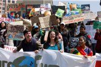 Activistas protestan contra las políticas para proteger el medio ambiente de Evo Morales, tras los incendios que acabaron con cinco millones de hectáreas de bosques. (REUTERS/Manuel Claure) (Stringer/Reuters)
