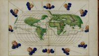Atlas portulano de Battista Agnese, que describe el recorrido de la expedición de Magallanes y Elcano. Biblioteca Digital Mundial.