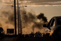 Las fuerzas armadas mexicanas se enfrentaron con hombres armados del Cártel de Sinaloa en Culiacán la semana pasada.Credit...Augusto Zurita/Associated Press