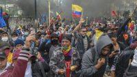 Protestas en Ecuador tras el decreto 883 del gobierno