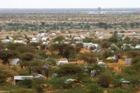 Dagahaley – one of three camps that make up Kenya's sprawling Dadaab refugee camp. Dai Kurokawa/EPA