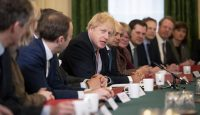 Boris Johnson chairs the first cabinet meeting after winning a majority of 80 seats in the 2019 UK general election. Photo by Matt Dunham – WPA Pool/Getty Images.