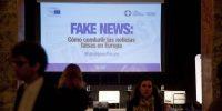 Foro sobre Fake News organizado en 2018 SANTI BURGOS