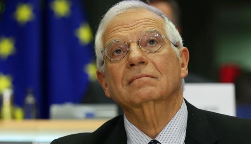 High Representative of the Union for Foreign Policy and Security Policy Josep Borrell answers the questions of members of the European Parliament in Brussels in October. Photo: Getty Images.