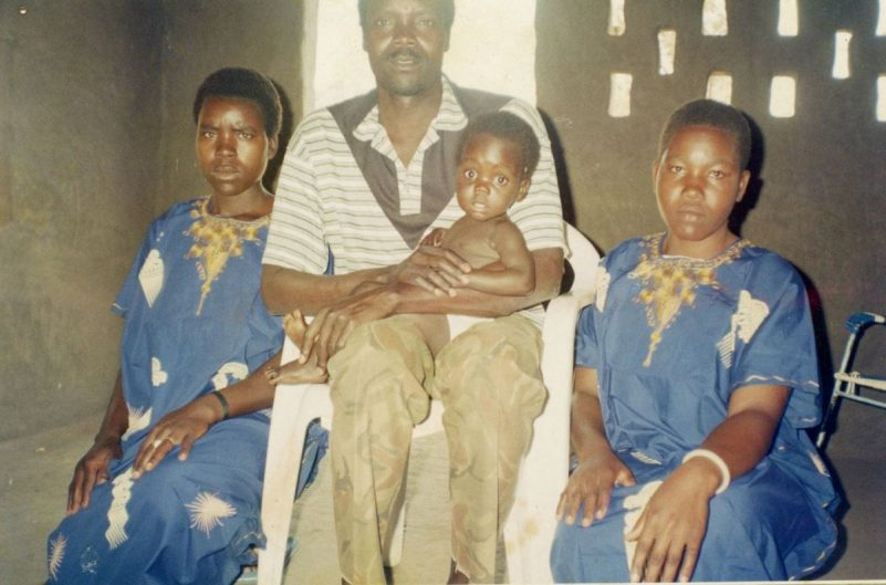 "Joseph Kony with his ""wives"" and child, taken around 2003. (Charles Tabuley)"