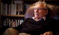 'He had a greatness about him, a nobility. Even towards those who attacked him.' Amos Oz in 2014. Photograph: Uzi Varon