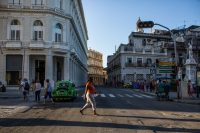 Pedestrians in Havana.Credit...Lisette Poole for The New York Times