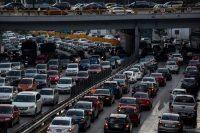 Tráfico en Ciudad de MéxicoCredit...Adriana Zehbrauskas para The New York Times