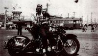 Ralph McPeek y Amanda Villatoro en San Francisco en 1947Credit...Marcos Villatoro
