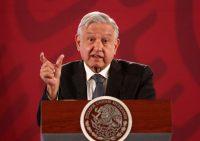 El presidente de México, Andrés Manuel López Obrador, en la Mañanera del 17 de enero de 2020Credit...Mario Guzmán/EPA vía Shutterstock