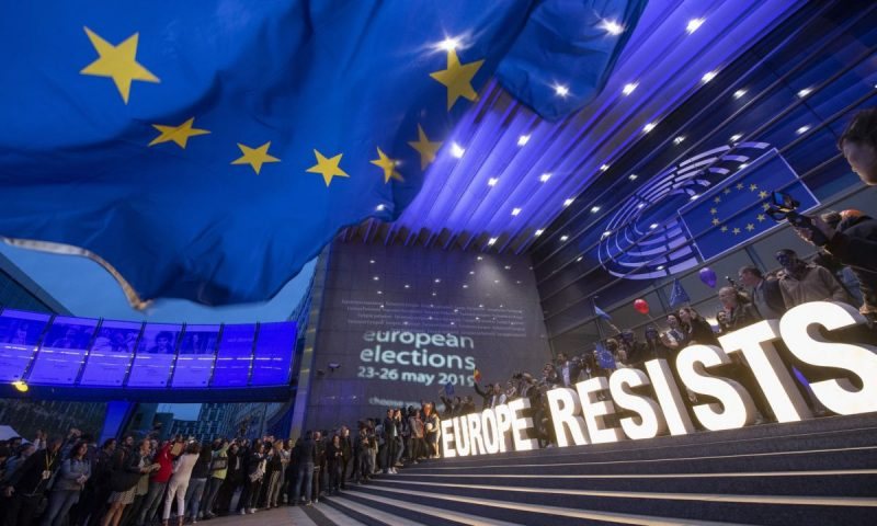 'The EU risks eroding citizens' trust even at a time when public engagement (as seen in the most recent European elections) is running at record levels.' Photograph: Ermindo Armino/AP