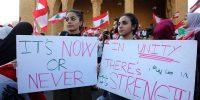 Tormenta perfecta en el Líbano