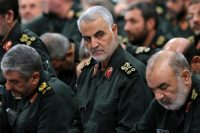 Maj. Gen. Qassim Suleimani of Iran's Qods Force of the Islamic Revolutionary Guards Corps, in 2016.Credit...Office of the Iranian Supreme Leader, via Associated Press