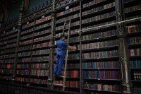 La biblioteca y centro cultural Real Gabinete Portugués de Lectura en Río de Janeiro, BrasilCredit...Carl de Souza/Agence France-Presse — Getty Images