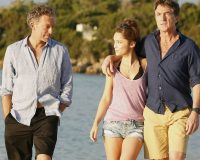 "A scene from the French movie ""Un moment d'égarement"" (""One Wild Moment"") from 2015, whose plot centers on a middle-age man having an affair with his friend's teenage daughter. From left, Vincent Cassel, Lola Le Lann and François Cluzet.Credit...Mars Distribution, via Everett Collection"