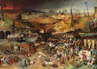 """""""El triunfo de la muerte"""" de Bruegel el Viejo. Credit Museo Nacional del Prado"""