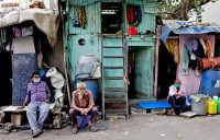 Seven people have been infected so far by the novel coronavirus in Dharavi slum in Mumbai, India. Credit... Rajanish Kakade/Associated Press