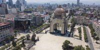 Plaza Republica el 31 de marzo de 2020 en la Ciudad de México, México. Hector Vivas/Getty Images