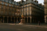 París desierta el 25 de abril. Credit Dmitry Kostyukov para The New York Times