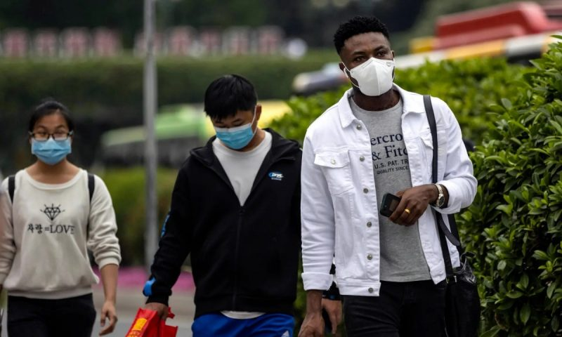 Africans in Guangzhou have been refused entry by hospitals, hotels, supermarkets, shops and food outlets. Photograph: Alex Plavevski/EPA