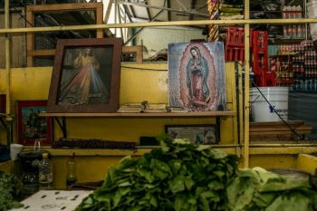 Many people in Mexico feel a sense of protection from the virus thanks to their strong religious beliefs.