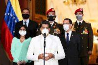Nicolás Maduro en Caracas, el 30 de marzo de 2020. Credit Palacio de Miraflores vía Reuters