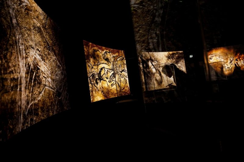 A replica of the Chauvet Cave of southern France, which contains some of the earliest known figurative cave paintings in the world, at the Caverne du Pont-d'Arc in the French Rhône-Alpes region. Credit Jeff Pachoud/Agence France-Presse — Getty Images