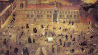 Anónimo: La peste en Sevilla de 1649 (Hospital del Pozo Santo de Sevilla)