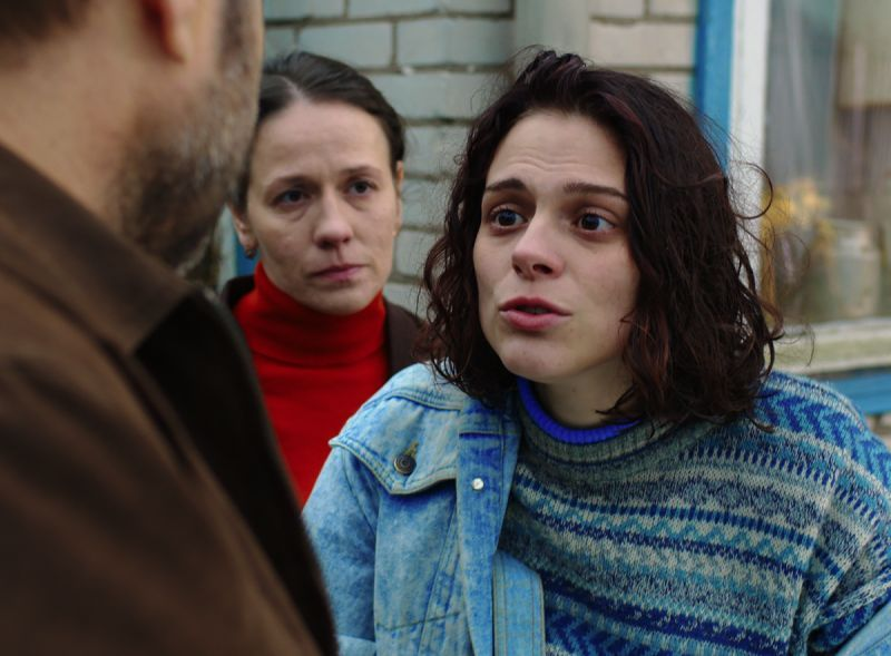 Anthology Film Archives. Darya Zhovner (front) as Ilana and Olga Dragunova as Adina in Closeness, 2017