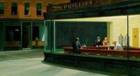 La obra de Hopper Los noctámbulos
