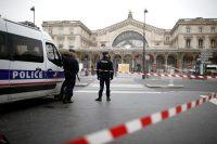 La Gare de l'Est, à Paris, le 17 mars. Photo Benoît Tessier. Reuters