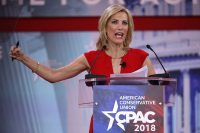 Fox News host Laura Ingraham addresses the Conservative Political Action Conference on Feb. 23, 2018, in National Harbor, Md. (Chip Somodevilla/Getty Images)
