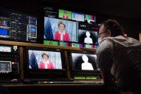 La presidenta de la Comisión Europea, Ursula von der Leyen, durante la reunión sobre la financiación para el desarrollo en la era Covid-19. EC - Audiovisual Service / Etienne Ansotte