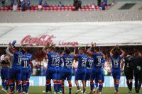 Jugadores del Cruz Azul en julio de 2018. Credit Jose Mendez/EPA vía Shutterstock