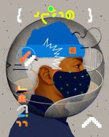 Imagen creada por Samuel Rodríguez.para la campaña de sensibilización de Naciones Unidas para ayudar a detener la propagación de la covid-19 (Unsplash).