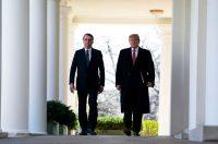 Jair Bolsonaro, presidente de Brasil, y Donald Trump, presidente de Estados Unidos, en la Casa Blanca en marzo de 2019.Credit Doug Mills/The New York Times
