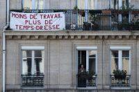 A Paris le 20 avril. Photo Joël Saget. AFP