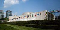 Edificio de la Asamblea General de las Naciones Unidas (Nueva York, Estados Unidos). Shutterstock / Snaglic